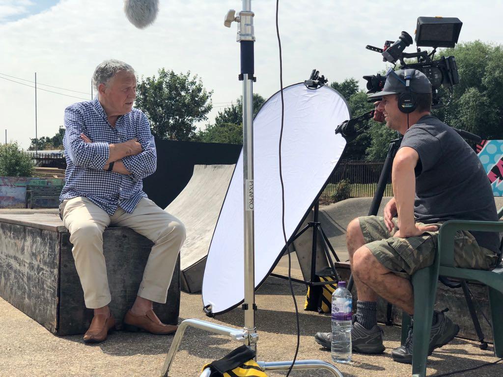 Interviewing John Senior for Rom Boys